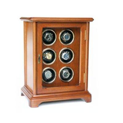 Clock + Storage Cabinet Automatic Watch for 4, Model CBN06