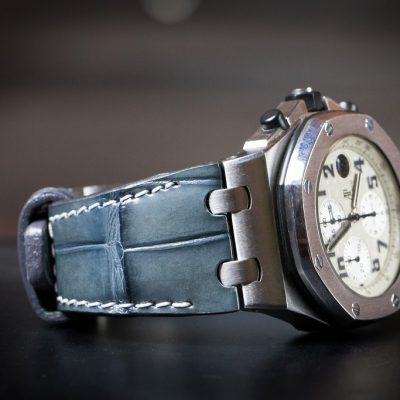 Hans Stich - Alligator Leather Watch Strap for Audemars Piguet Offshore