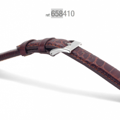 Campagnolo Alligator Leather Strap 18-26 mm for Rolex PAM Omega IWC etc.