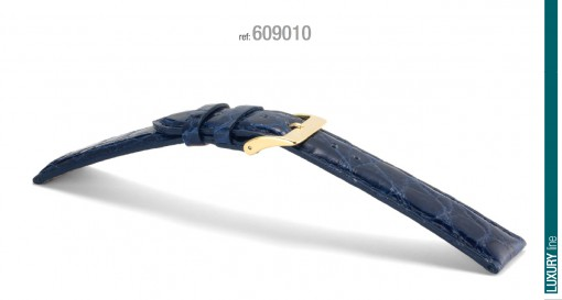 Campagnolo CROCODILE Crocodile Leather Strap 18-22 mm for Rolex Panerai omega tag