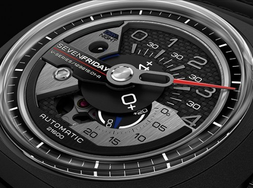 Seven Friday - the trendiest fashion wristwatch model V3-01