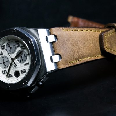 Hans Stich - Italian Leather Watch Strap for Audemars Piguet Offshore